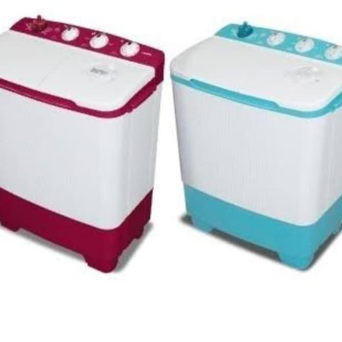Mesin cuci 2 tabung SANKEN 8 kg - TW 8650
