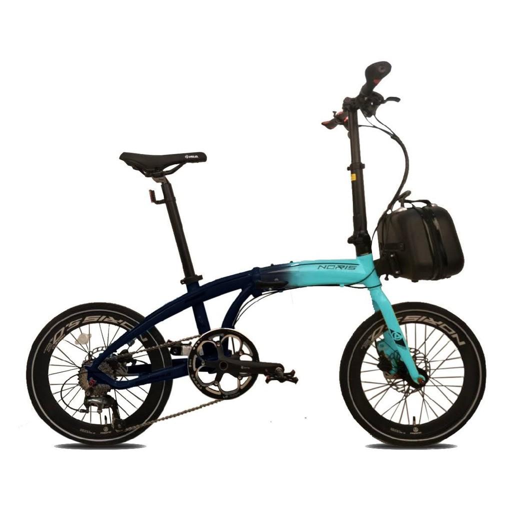Sepeda Lipat Pacific Noris 5.0 20 Inci Alloy 6061 1x10Sp Hydraulic ...