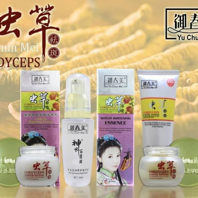 ... facial Wash / Sabun Wajah Cordyseps Gold. Source · Siang Cream Yu Chun Mei \ Cream Cordyceps .