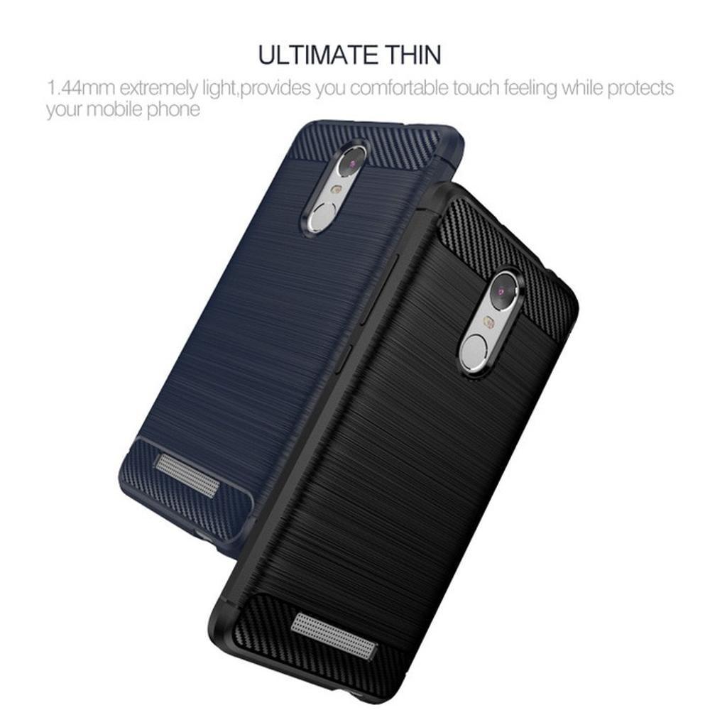 SoftShell Delkin Carbon Fiber Xiaomi Redmi 4x 4 x Case Ipaky Soft   Shopee Indonesia