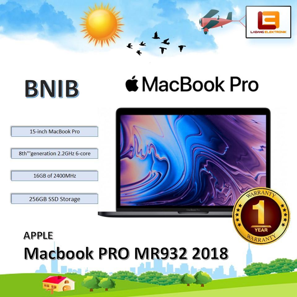 Apple MACBOOK PRO 1 1 Inch Type MR1 RAM 1GB / 1GBSSD
