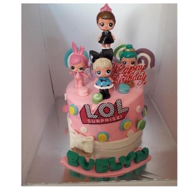 Kue Ulang Tahun LOL / Cake Ultah LOL