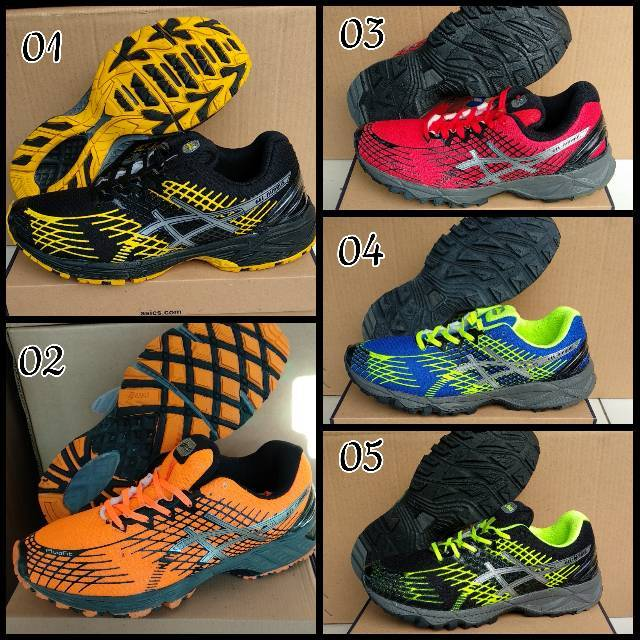 Sepatu voli pria asics gel lokal made indo murah  0866de0003
