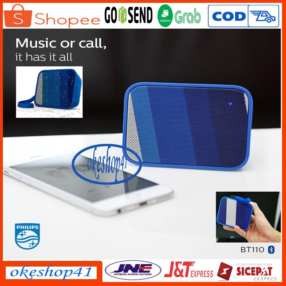 Speaker Bluetooth Philips BT110 Pixel Pop
