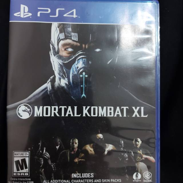 Mortal Kombat Xl Ps4 Shopee Indonesia