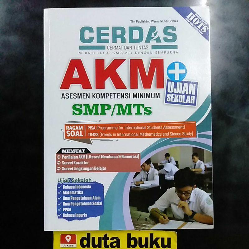 Buku Soal Akm Smp 2021 Latihan Smp Mts Akm 2021 Kunci Jawaban Dan Pembahasan Shopee Indonesia