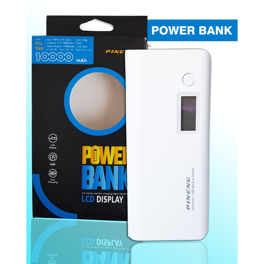 Powerbank Log On 6000 Mah Alumunium 660l Shopee Indonesia 6000mah Vibe 523l Black