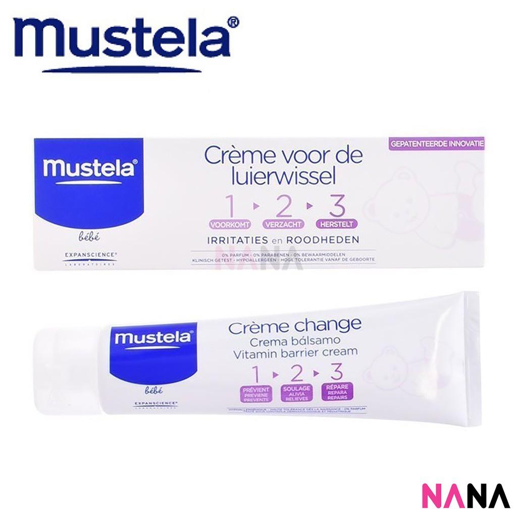 Mustela Barrier Cream 100 Gr Extra 123 Shopee Indonesia Bebe Diaper Vitamin 110gr