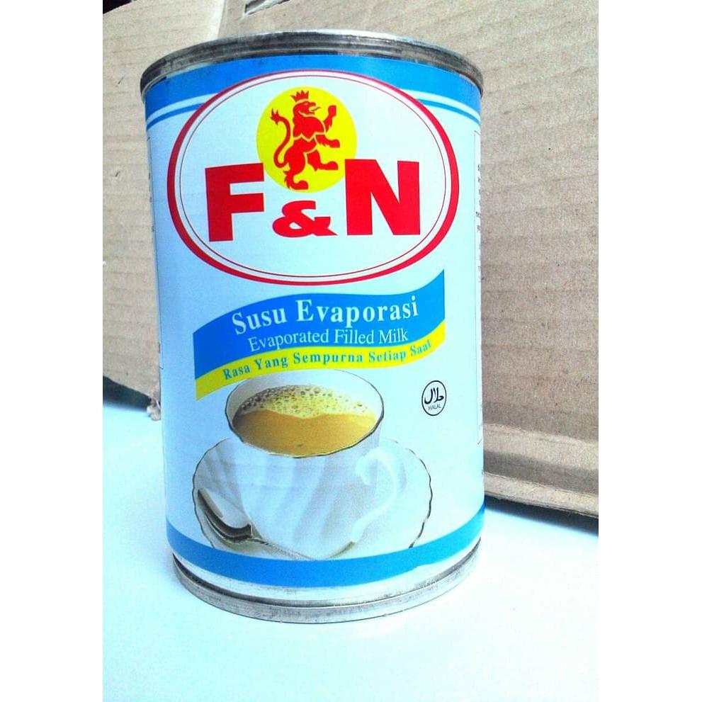 Susu Cair Evaporasi Fn Evaporate Evaporated Milk Shopee Carnation 48 Kaleng Indonesia