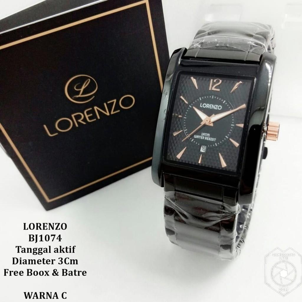 Fashion Lorenzo Daftar Harga Desember 2018 Charles Jourdan Cj 182 121 Jam Tangan Pria Stainless Steel Silver