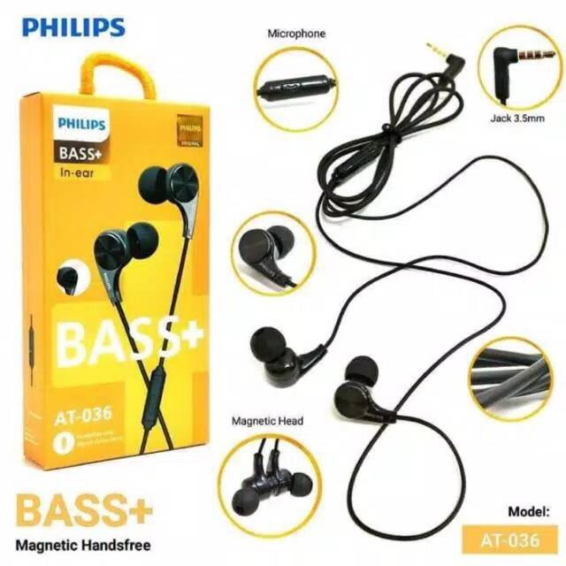 Headset Philips / Handsfree Philips AT-036 Magnet