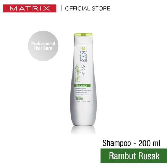 Matrix Biolage Fiberstrong Shampoo 200ml Shopee Indonesia