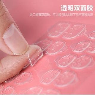 COD Lem Kuku 2 Sisi Transparan Tidak Terlihat untuk Nail Art 8