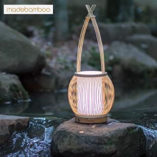 pabrik grosir suyue zen lampu kamar tidur bambu pengisian