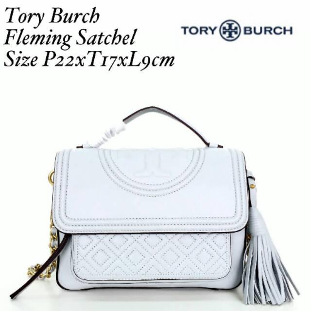 1d9c39681f5b Tory Burch Lee Radziwill Satchel