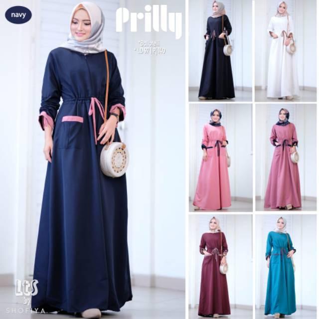 Gamis Balotelli Prilly Dress Original LTS By Shofiya  6ac07f8a16