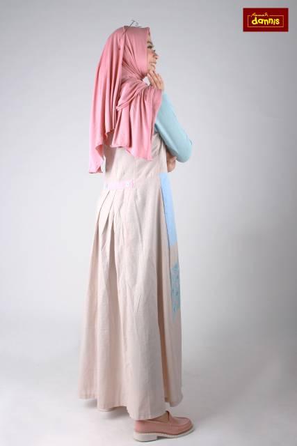 Size Xxl Abaya Colour Blok Dannis Shopee Indonesia