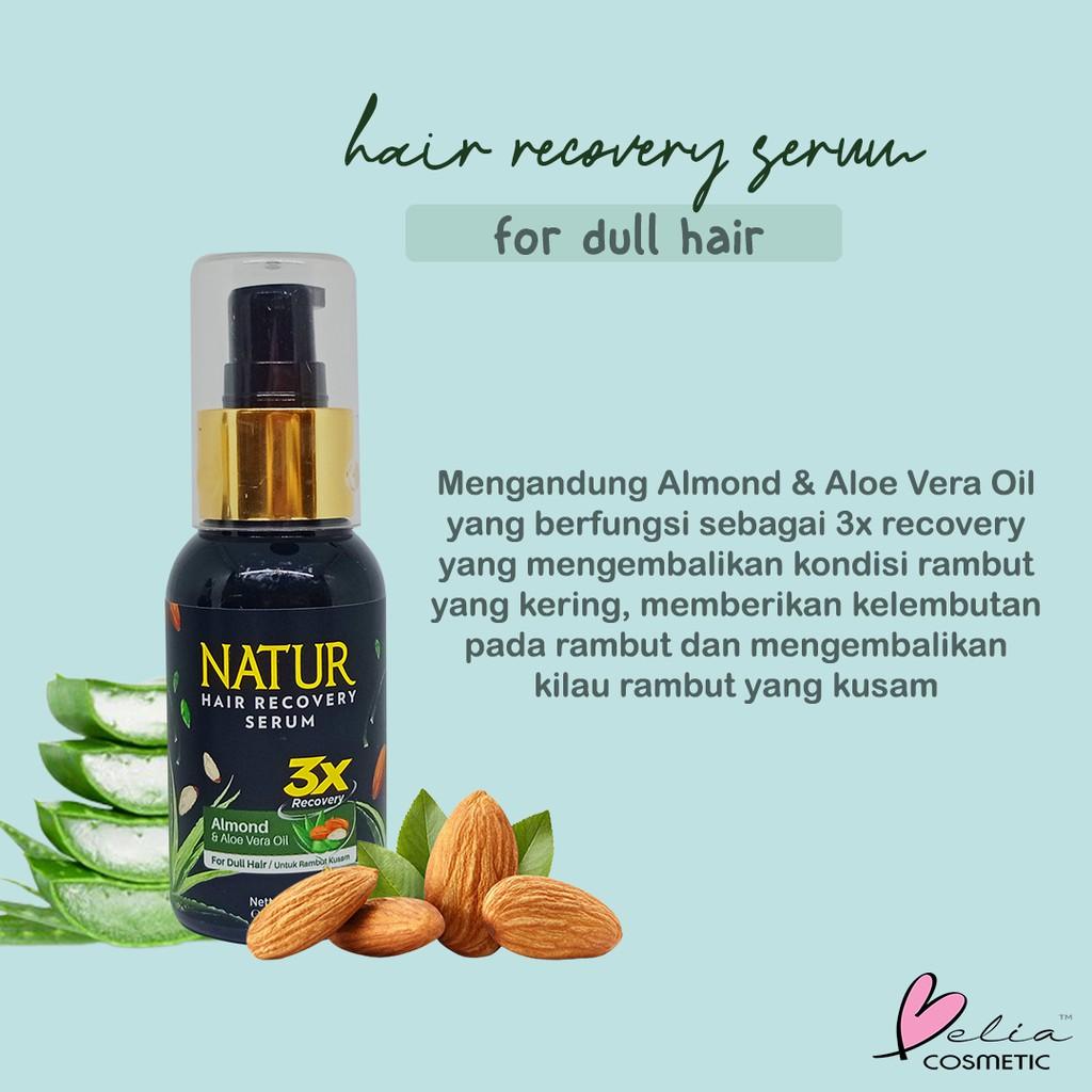 ❤ BELIA ❤ NATUR Hair Mask   Hair Vitamin   2 in 1 Shampoo & Hair Tonic(✔️BPOM)-5