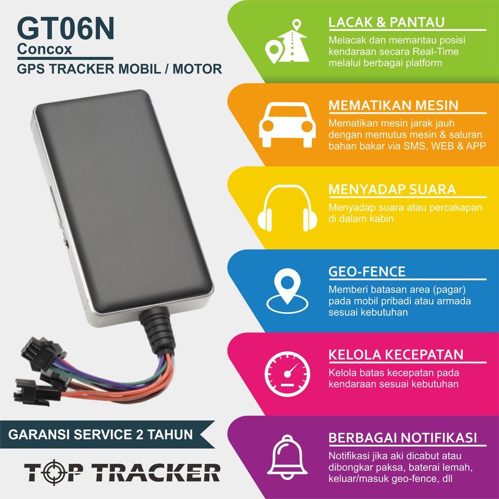 GPS TRACKER GT06N   Server Tracksolid Unlimited   ORIGINAL CONCOX