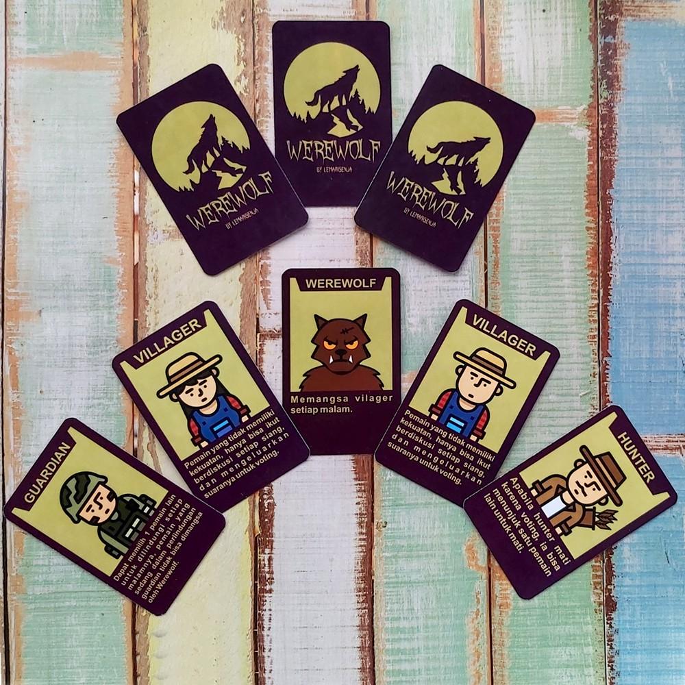 Kartu Permainan Werewolf