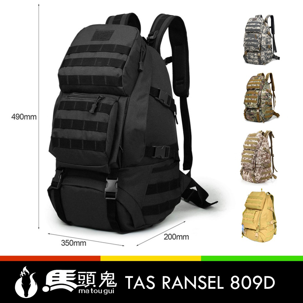 Tas Ransel 511TSA 40L Import Tactical Waterpoof Backpack  8a9411ab1c