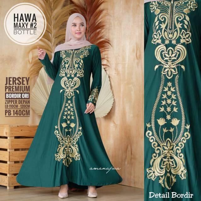 Dress Gamis Baju Muslim Wanita Long Dress Fashion Muslim Shopee Indonesia