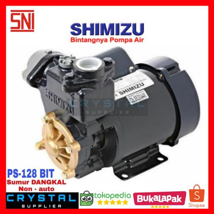 Pompa Air Shimizu Ps 128 Bit Ps128bit Sumur Dangkal Manual 125 Watt Shopee Indonesia
