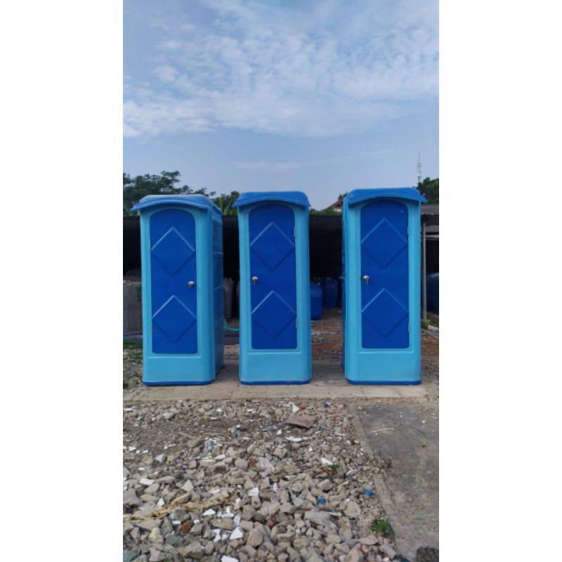toilet Portable duduk, closed, WC