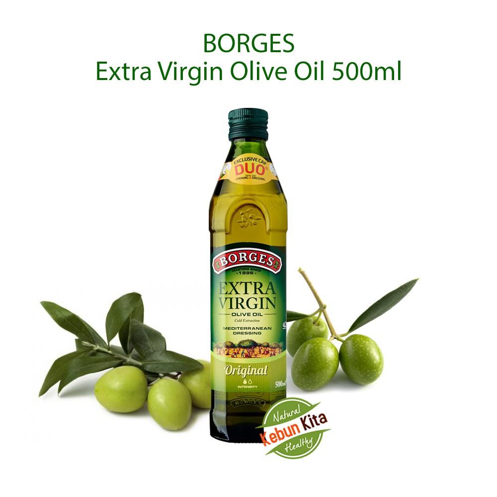 Grapeseed Oil 500ml Minyak Biji Anggur Shopee Indonesia Borges 500 Ml