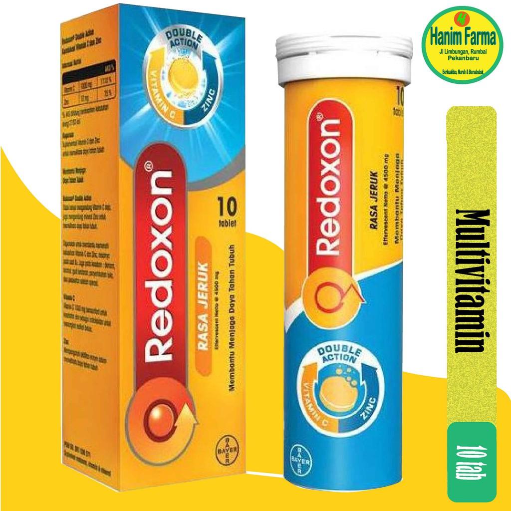 redoxon vitamina c sin zinc)
