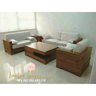 4600 Gambar Kursi Sofa Kayu HD