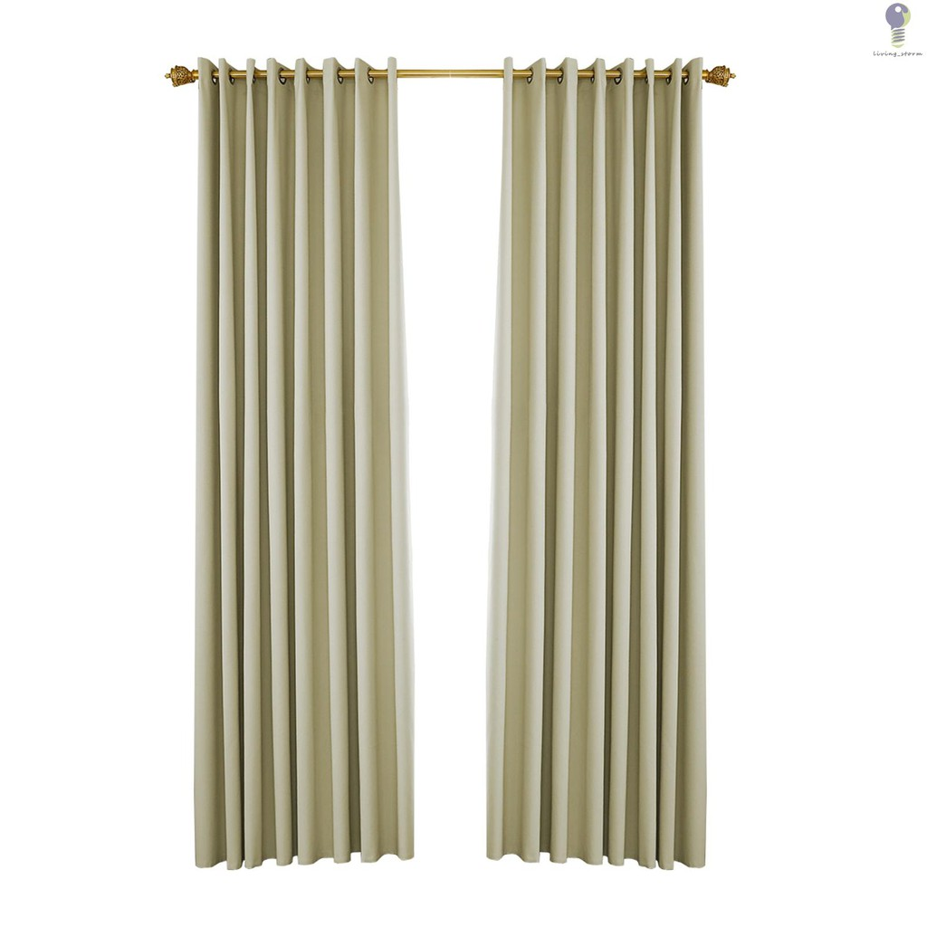 Pergola Outdoor Drapes Blackout Patio Outdoor Curtains Waterproof Outside Decor With Rustproof Grommet For Pergola Porch 2 Panel 52 W 107 L Shopee Indonesia