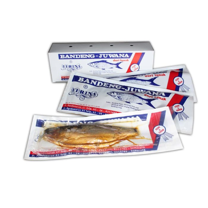 BANDUNG | 2 PACK Bandeng Presto Fresh 5 EKOR/PACK | STYROFOAM BOX | JNE