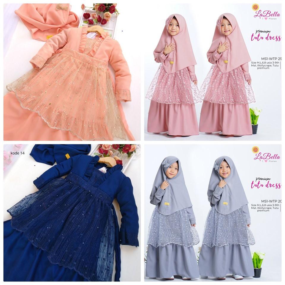 Baju Muslim Anak Labella