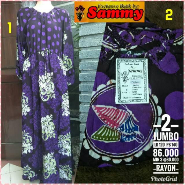 Daster Setelan Celana Merk Sammy Original Baju Batik Cap Pekalongan Tidak  Luntur Tidak Mudah Robek  416ebda86c