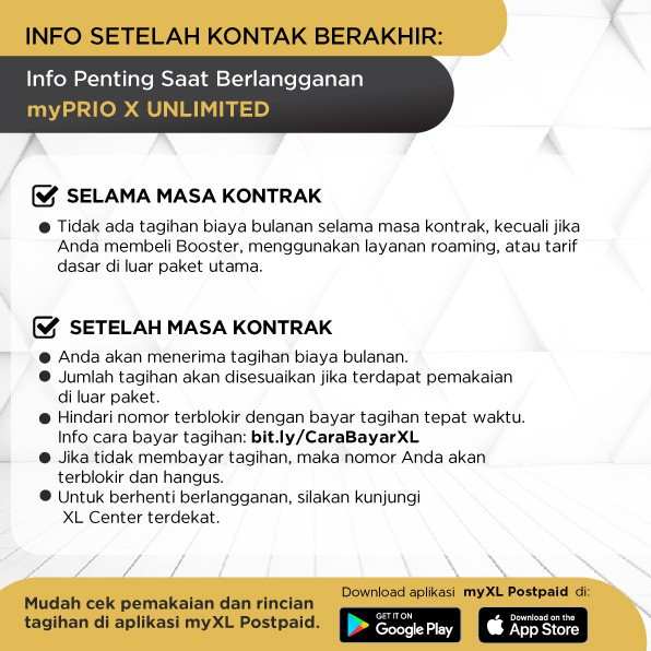 Kartu Perdana Pascabayar Xl Prioritas Platinum X Unlimited Data 500mnt 2 Bulan Shopee Indonesia
