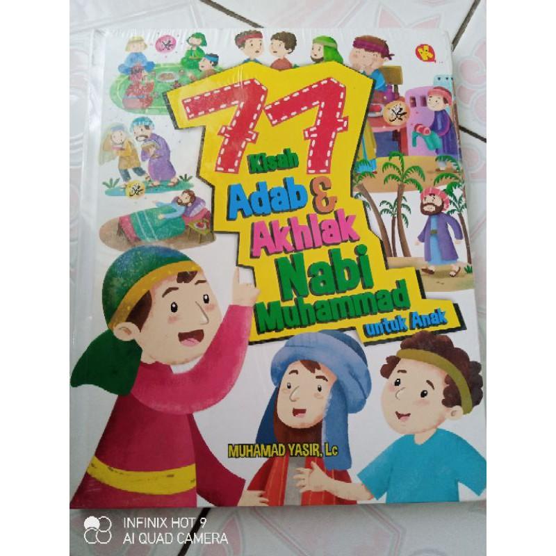 77 kisah Adab & Akhlak Nabi Muhammad