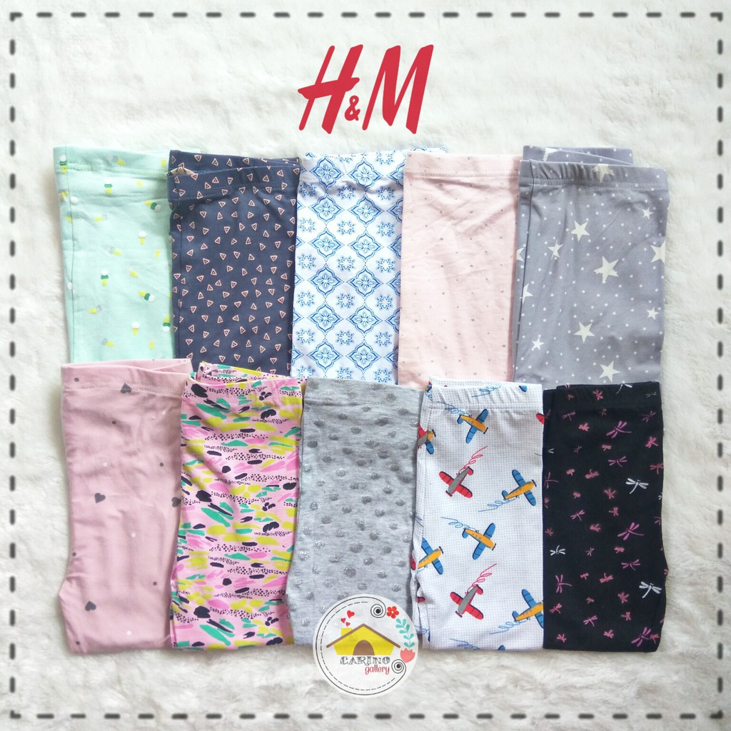 Celana Legging H M Small Cut Shopee Indonesia