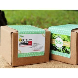 Paket Benih Hemat 25 Jenis Sayuran Free Polybag, Pupuk NPK ...