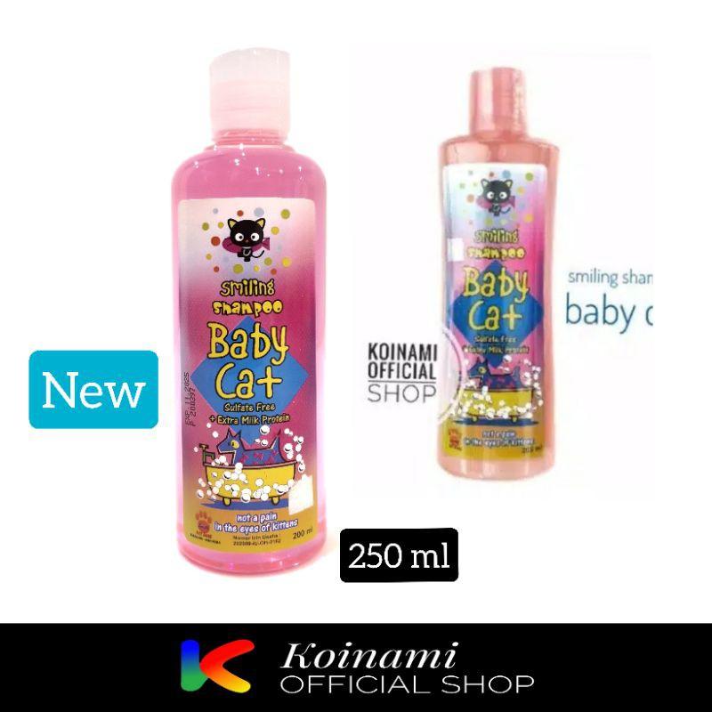 SMILLING FOR BABY CAT 200ml PINK / kitten shampo / anak kucing / RAID ALL-1