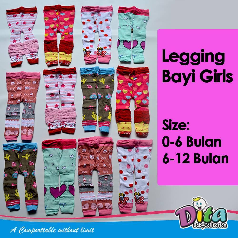 Ditabedong Legging Busha Motif Buka Kaki Legging Bayi Motif Ready Bandung Shopee Indonesia