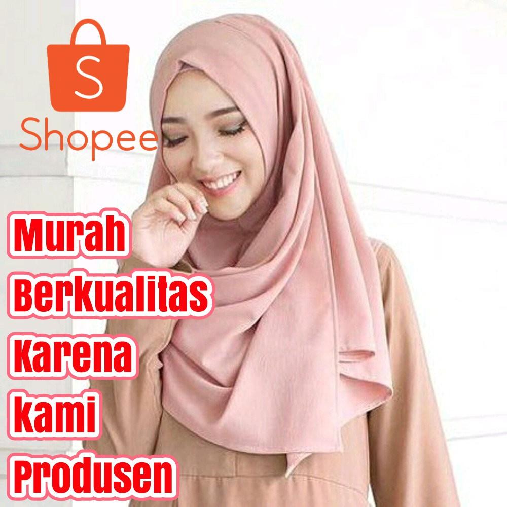 Beli Sale Termurah Medium Pasmina Instan Sala Pashtan Jilbab Hijab Pashmina  Instant Kerudung Harga Lebih Murah Bersama Teman Shopee Indonesia