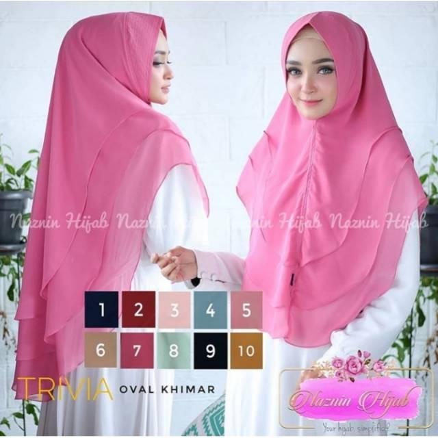 Jilbab instan / Fashion Muslim / Jilbab Jumbo / jilbab Syar'i / khimar oval