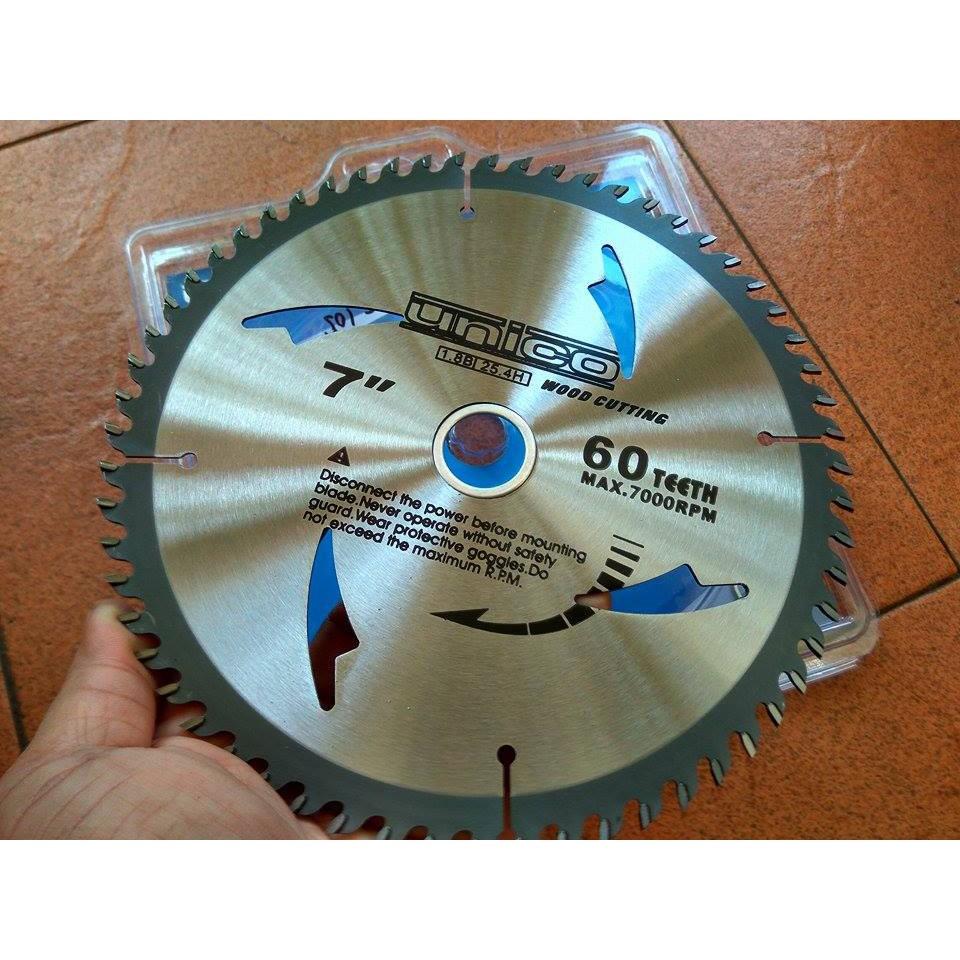 Circular Saw Blade 7x80t Gergaji Bulat Aluminium Serbaguna 180mm Mata Potong Kayu 4 Inch Fujiyama Multi Cutter Shopee Indonesia