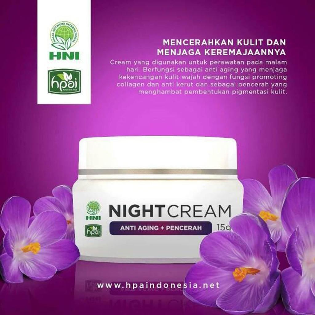 Cordysep Night Cream Krim Malam Herbal Shopee Indonesia