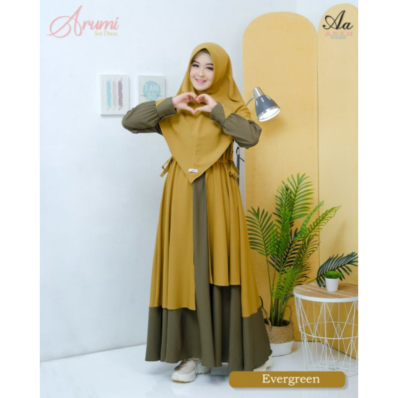 Best Seller Arumi Gamis Set Limited by ADEN