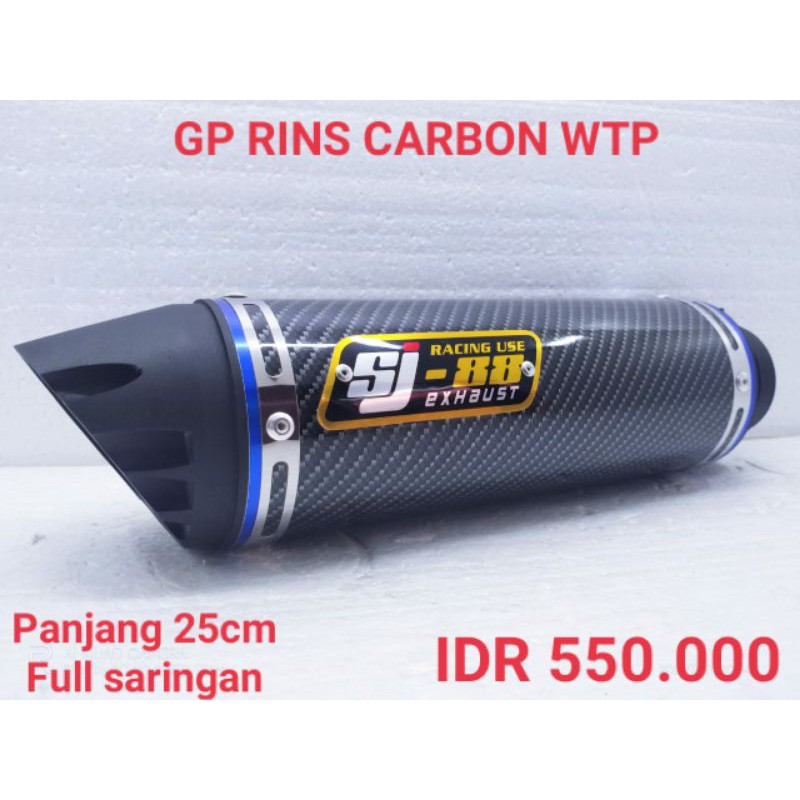 knalpot racing SJ88 Gp Rins