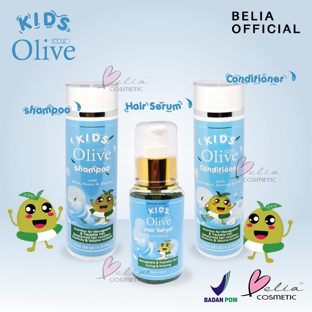 ❤ BELIA ❤ CO.E Olive Hair Treatment | Shampoo | Conditioner | Tonic | Shampo SYB (✔BPOM)-1
