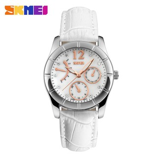 Jam Tangan Wanita Original Analog Bulove SKMEI Diamond 6911 Anti Air 30M
