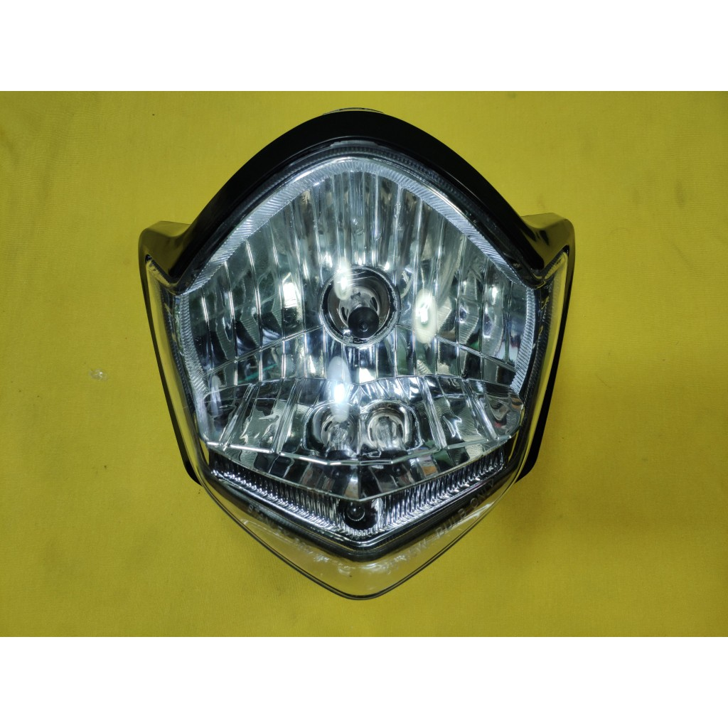 Vixion - Reflektor Headlamp Head Lamp Headlight Lampu Depan Chrome H4 Universal | Shopee Indonesia